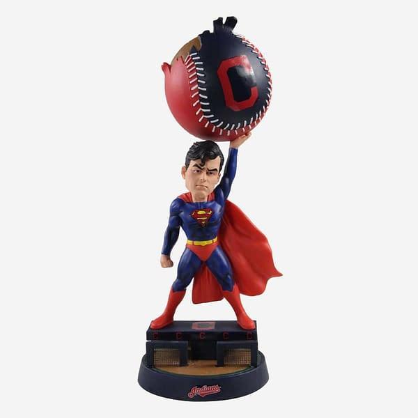 FOCO DC Comics X MLB Bobblehead Superman