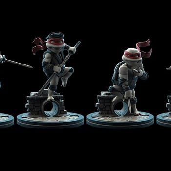 TMNT Q-Figs Exclusive Coming Soon For Q-Con