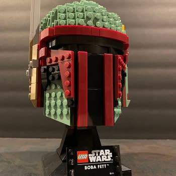 LEGO Star Wars Helmet Collection Boba Fett 12