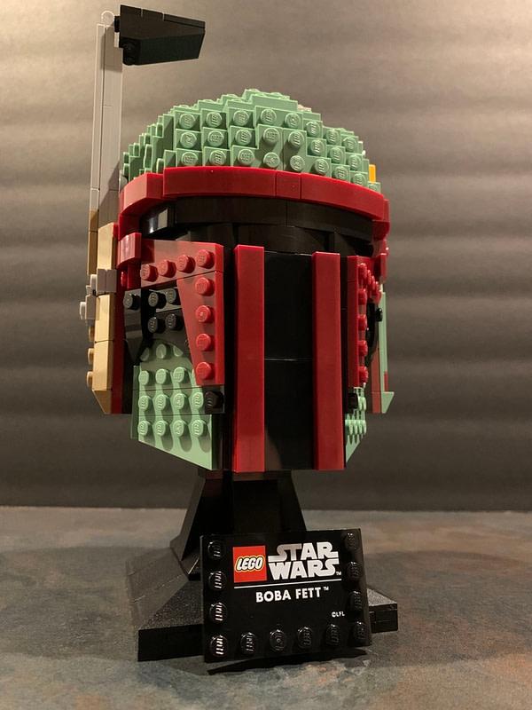 Collection de casques LEGO Star Wars Boba Fett 12
