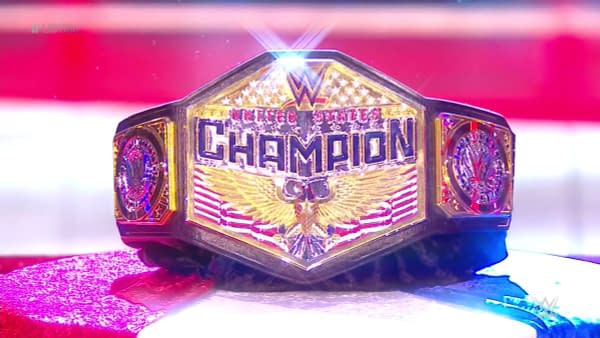WWE debuted a new United States Championship on Monday Night Raw.