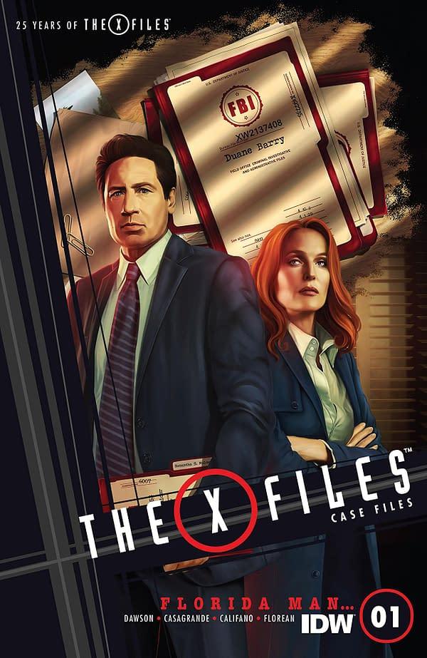 X-Files Case Files: Florida Man #1 cover by Marco Castiello