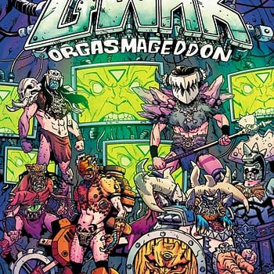 GWAR Travels Through Time In New Dynamite Series Orgasmageddon