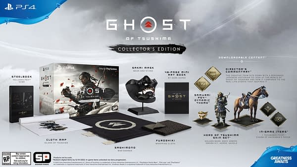 """""""Ghost of Tsushima"""" Officially Dated for June, Gets Epic Collector's Edition"""