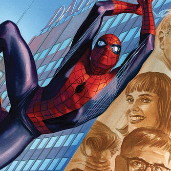 Amazing Spider-Man Annual #42 cover by Alex Ross