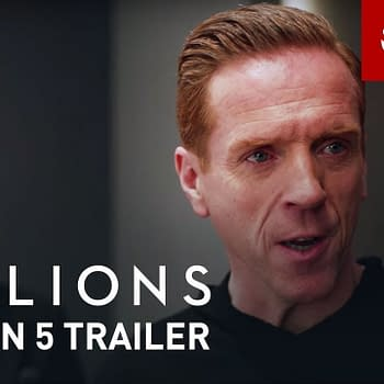 Axe faces challengers old and new when Billions returns for a fifth season, courtesy of Showtime.