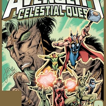 Avengers Celestial Quest #3 Cover