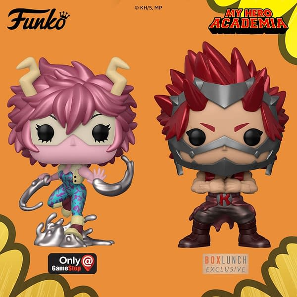 My Hero Academia Funko Pops in the Daily LITG, 8th July 2020.