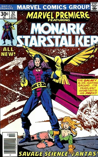 Howard Chaykin's Moment of Glory From Big Hero 6 With Monark Starstalker