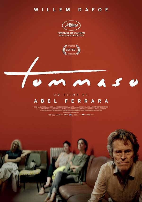 Willem Dafoe Stars In Tommaso, Check Out The Trailer Now