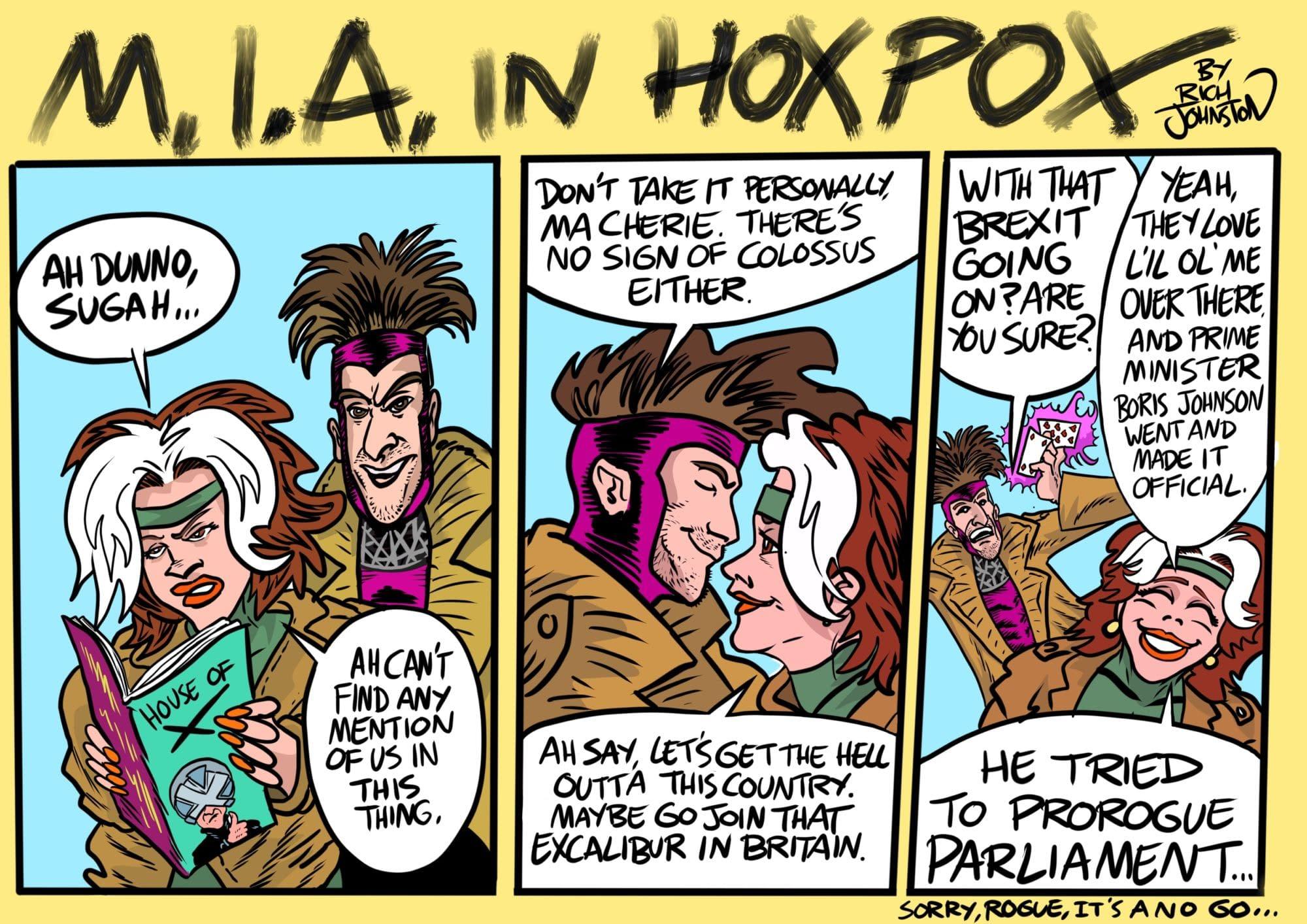M.I.A. In HOXPOX...