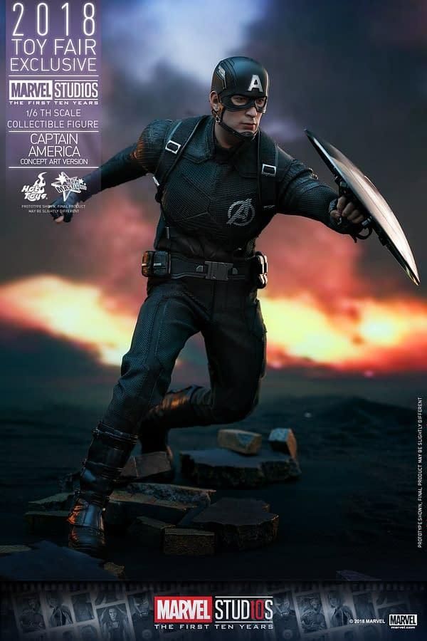 Hot Toys Concept Art Captain America 16