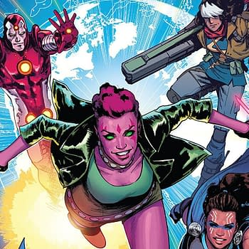 Exiles #1 cover by David Marquez and Matthew Wilson