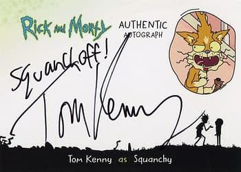 Rick and Morty Season 1 Trading Cards Auto 8
