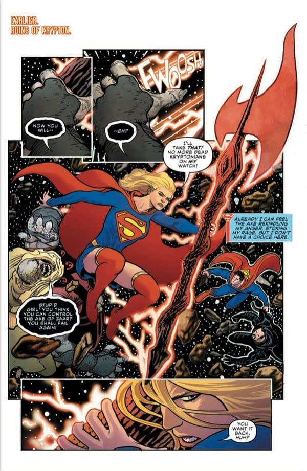 Supergirl #33 [Preview]