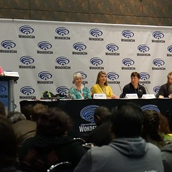 [#WonderCon] Gather Round the Campfire: Tellin Tales with Patrick Rothfuss R.A. Salvatore Tina LeCount Myers and Jenna Rhodes