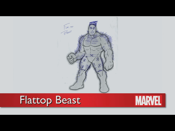 The Rejected Designs For The New Beast In All New X-Men