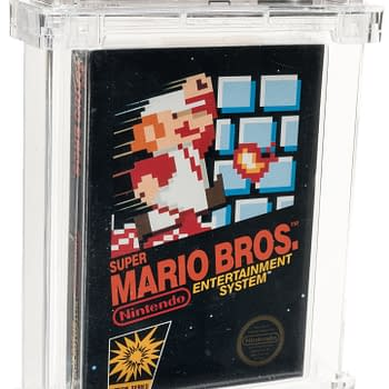 An Original Boxed Copy Of Super Mario Bros. Is Up For Auction