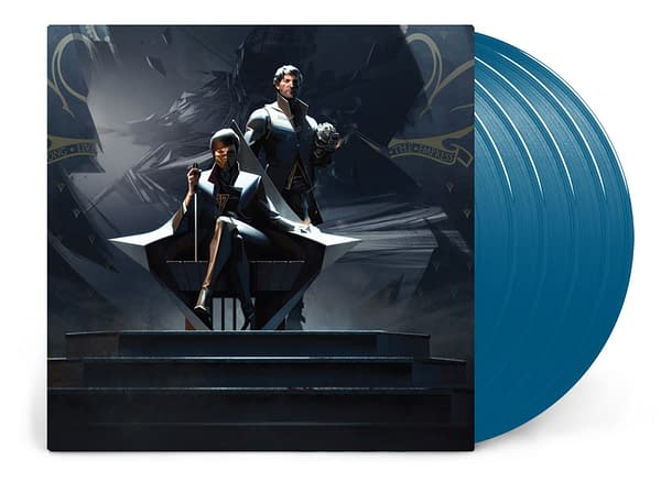 A look at the cover of Dishonored: The Soundtrack Collection, courtesy of Laced Records.