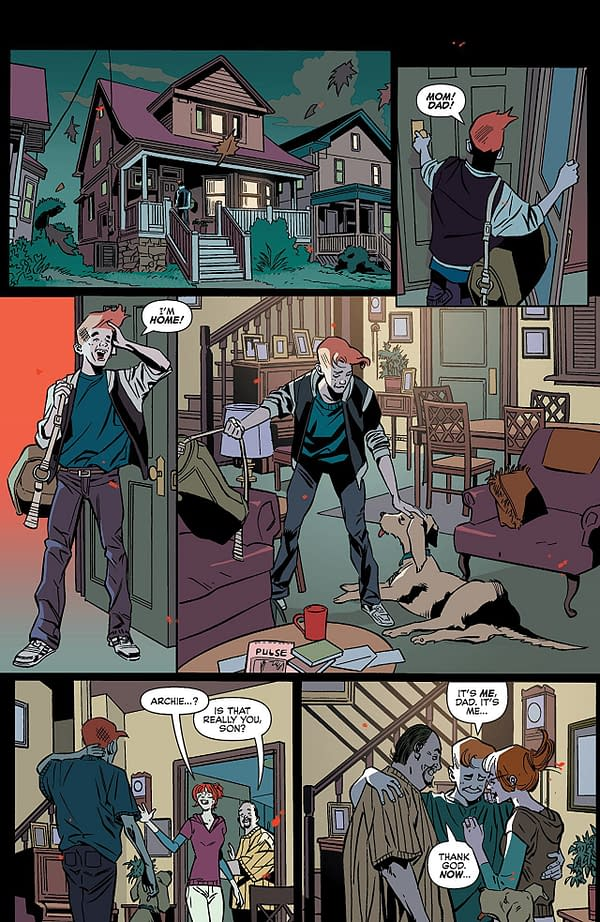 Jughead: The Hunger #6 art by Pat and Tim Kennedy, Bob Smith, and Matt Herms