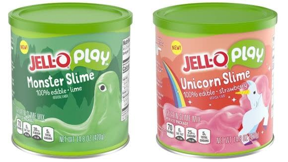 Jell-O Monster Edible Slime Containers