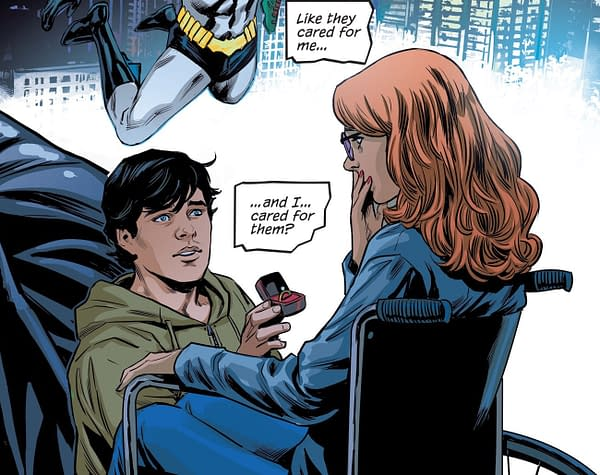 'Everything Happened' - Including the Proposal to Barbara Gordon - as Nightwing #68 Gets Closer to Dick Grayson
