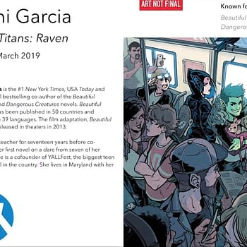 Beautiful Creatures Kami Garcia Starts Line of Teen Titans Graphic Novels Before They Were Superheroes