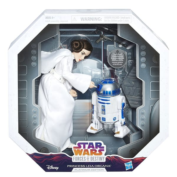 Leia and R2 Forces of Destiny Exclusive 2