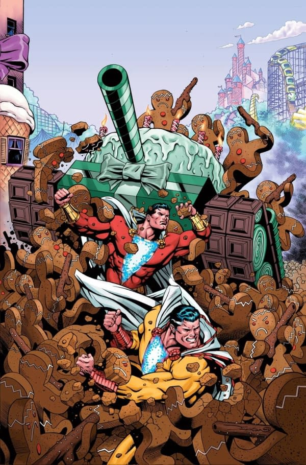 If at First You Don't Succeed... Shazam #10 Resolicited for January