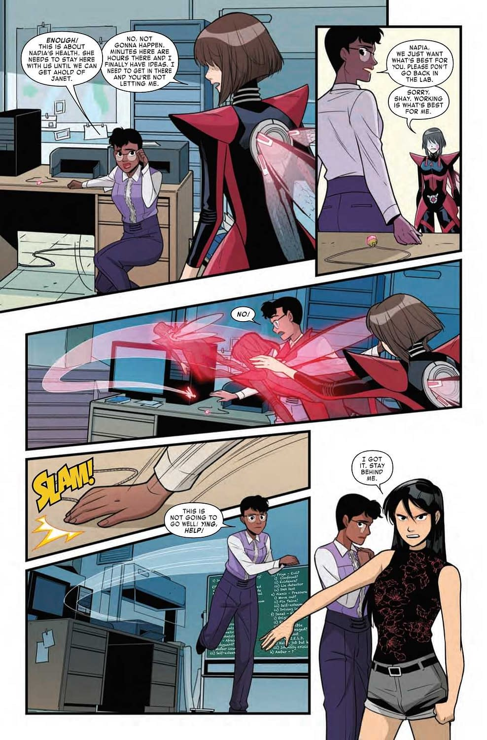 Nadia Has a Hank Pym Style Freakout in Next Week's Unstoppable Wasp #5 (Preview)