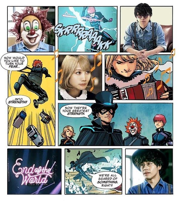 Marvel Launches New Comic With Japanese Band SEKAI NO OWARI, Greg Pak and Takeshi Miyazawa