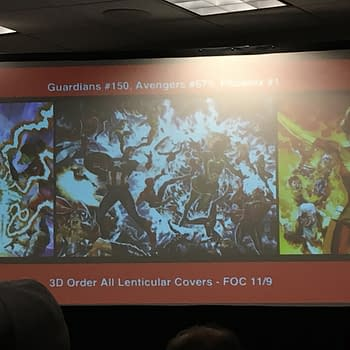 Guardians #150 Avengers #675 And Phoenix Resurrection #1 Get Very Different Lenticular Covers From Marvel Legacy Covers So Far