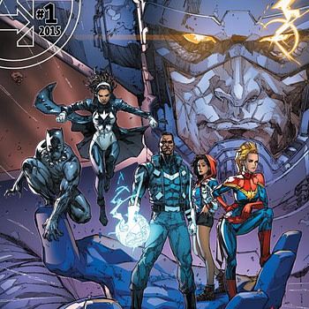 Black Panther Ultimates #1 cover by Kenneth Rocafort