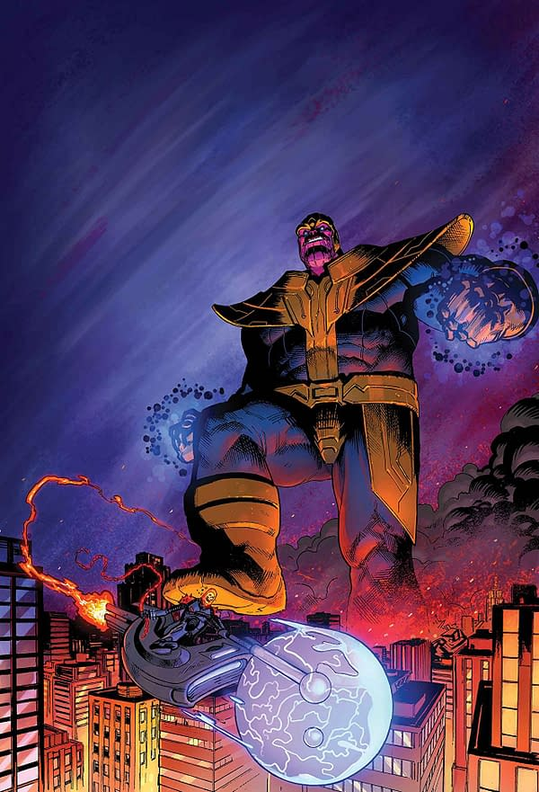 Thanos Annual #1 cover by Geoff Shaw