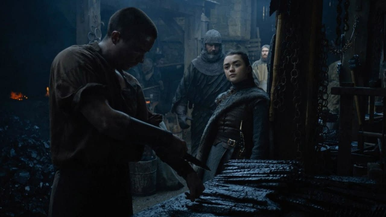 Maisie Williams Thought THAT 'Game of Thrones' Season 8 Scene Was a Prank