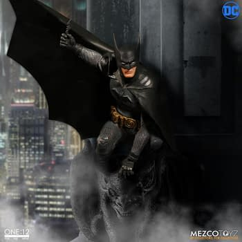 Batman Gets An Awesome Retro-Inspired Throwback Figure Thanks To Mezco