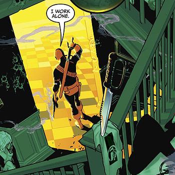 Deathstroke #29 cover by Ryan Sook