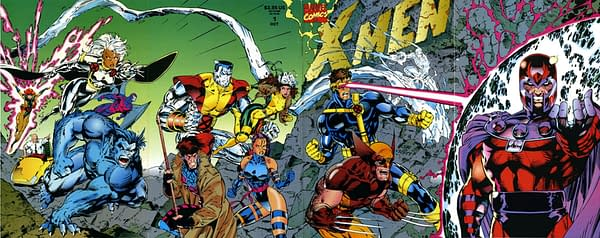Is Jim Lee's Addiction To Foldouts Getting Out Of Control?