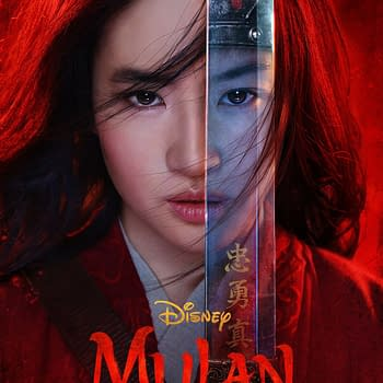 An official poster for Mulan. Credit: Disney