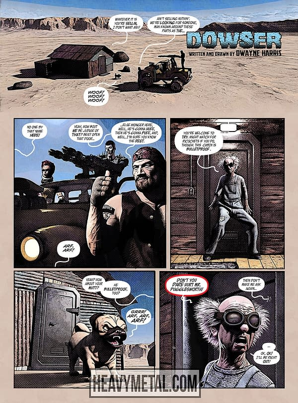 Exclusive Preview of Heavy Metal Magazine #298, With Richard Corben, Mark Stafford, Carlos Huante, Josan Gonzalez and More