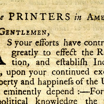 THE ISSUE: Democracy Dies in Darkness, 1786