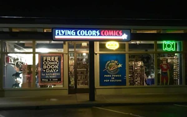 flying colors comics photo
