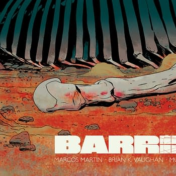 Barrier #2 cover by Marcos Martin and Muntsa Vicente