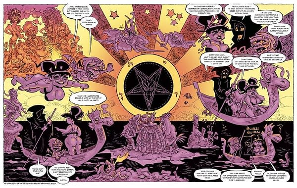 Heavy Metal Calls New Direct Comics 'Virus' Says Retailers Will Close. Art from HM.