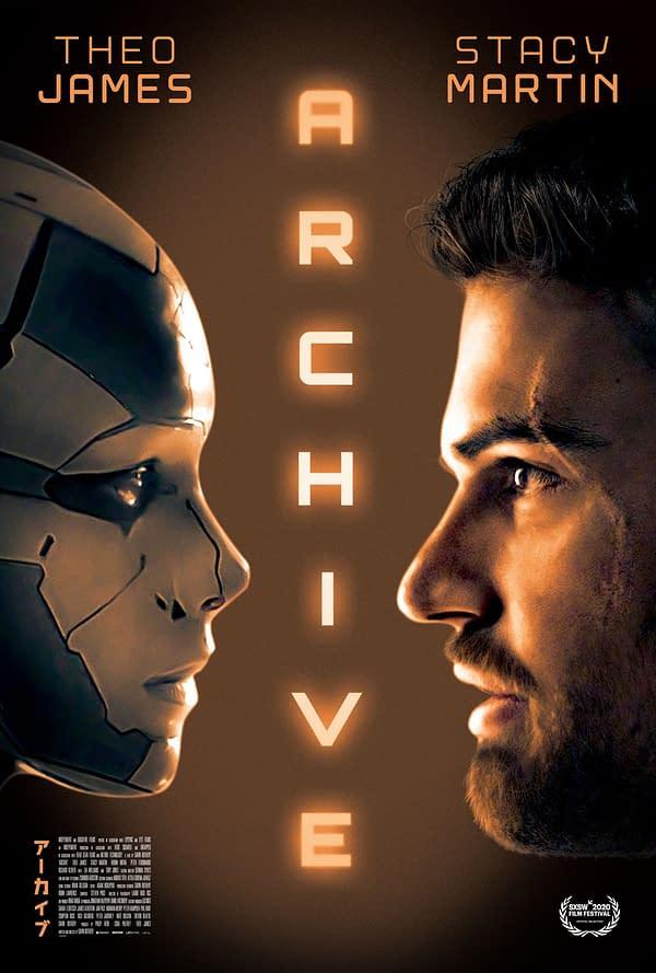 Le trailer d'archives promet une romance de science-fiction avec Theo James le 10 juillet