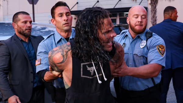 Jeff Hardy Involved in DUI Angle on WWE Smackdown
