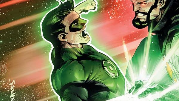Hal Jordan and the Green Lantern Corps #37 cover by Rafa Sandoval, Jordi Tarragona, and Tomeu Morey