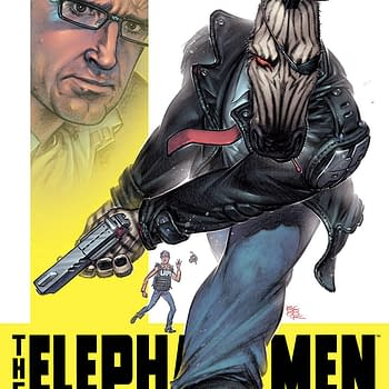 Richard Starkings Debuts New Elephantmen Comics at Comixology