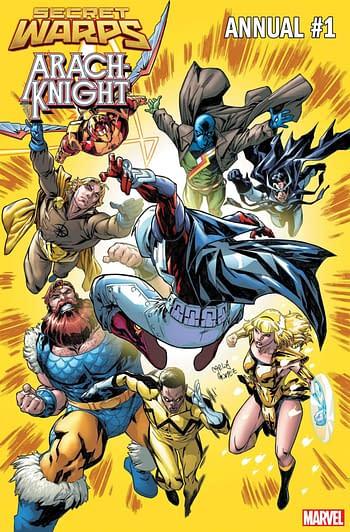 Frankensteining Marvel Comics July 2019 Solicitations