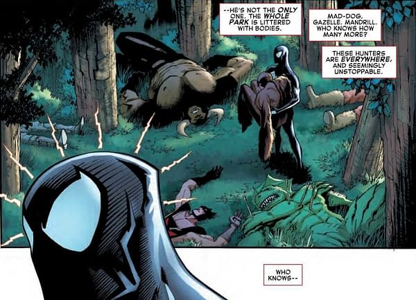 The D-List Body Count of Hunted in Amazing Spider-Man #19